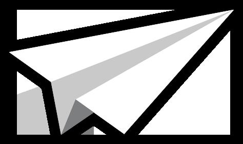 Avion de papier - Trésor de Charlemagne