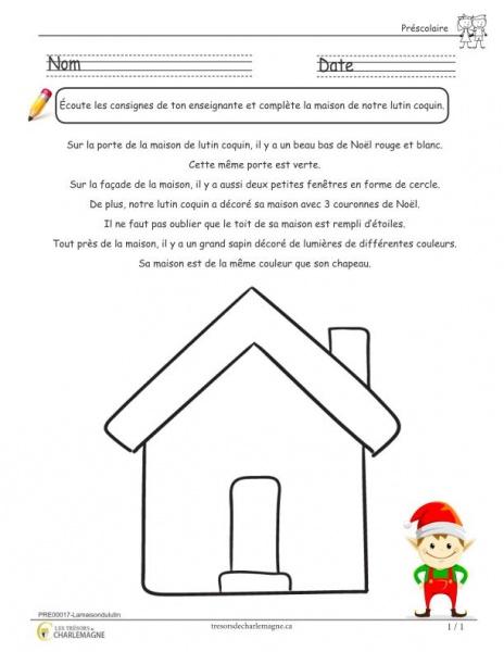maison du lutin coquin - document pédagogique téléchargeable