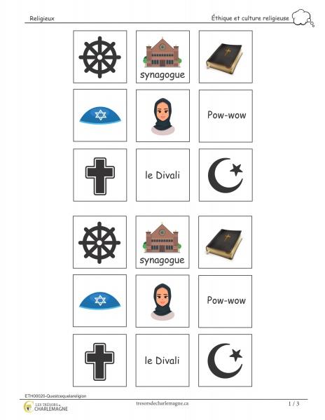 religion, éthique, exercice, évaluation